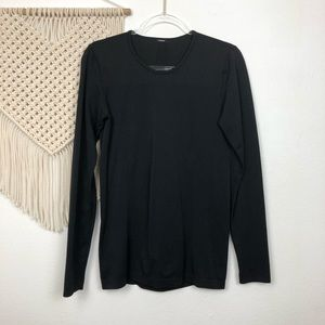 Fabletics Black Compression Althetic Long Sleeve